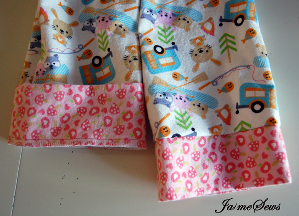 Ruffle PJs Pattern by Once Upon A Sewing Machine | JaimeSews